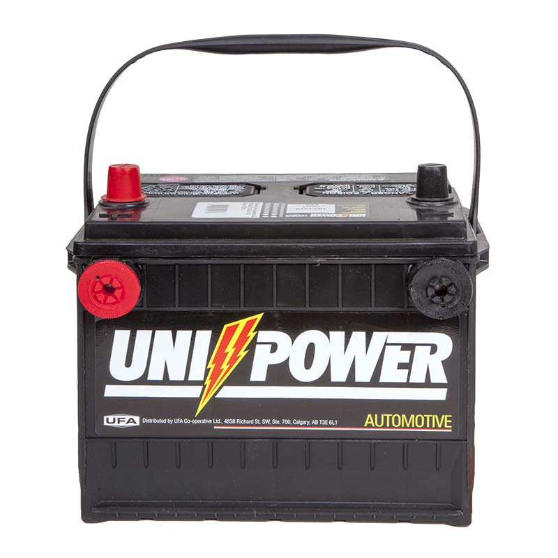 Uni-Power Dual Terminal Auto/Truck/SUV Battery - 65-75DT
