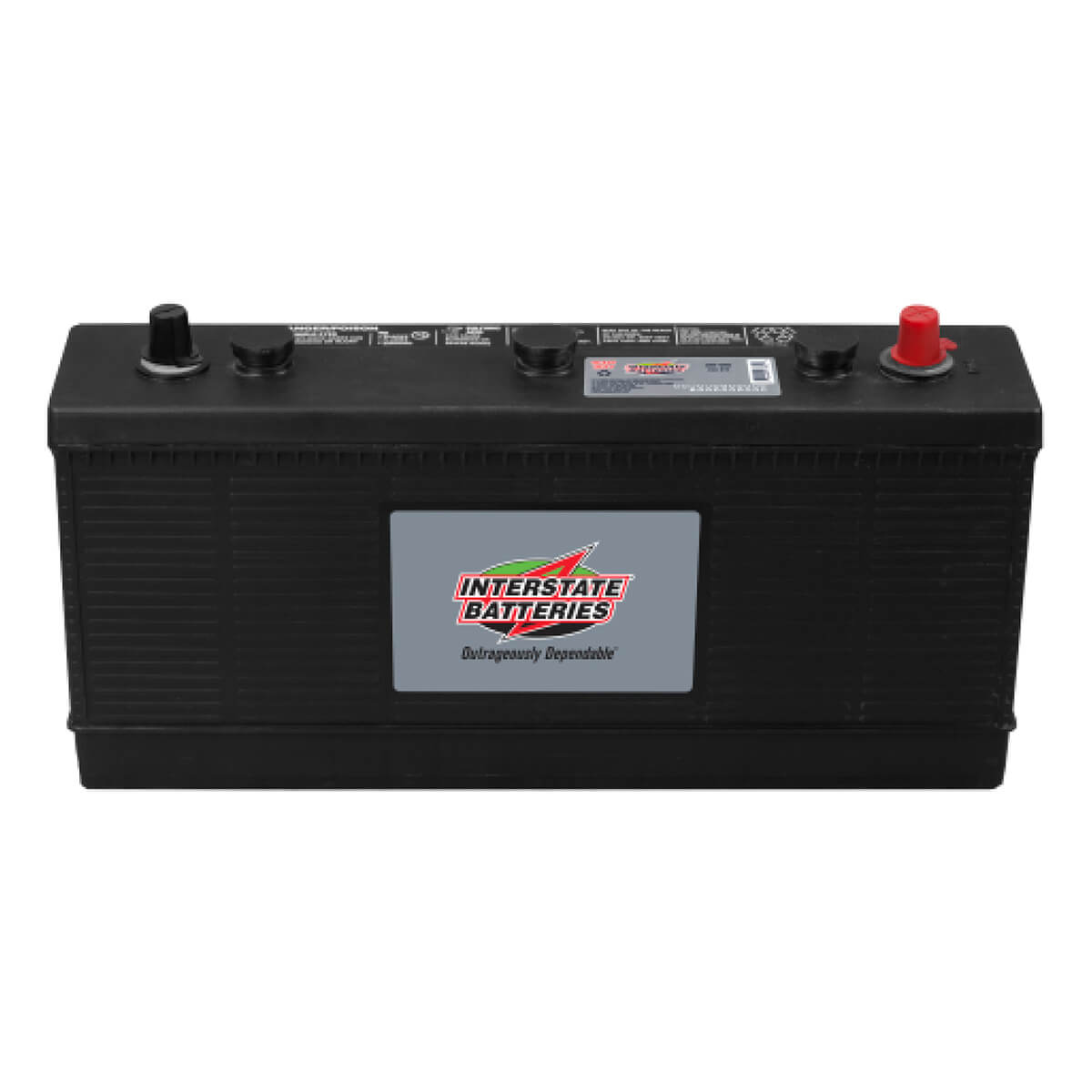 Interstate Commercial 6 Volt Battery - 3EH-VHD