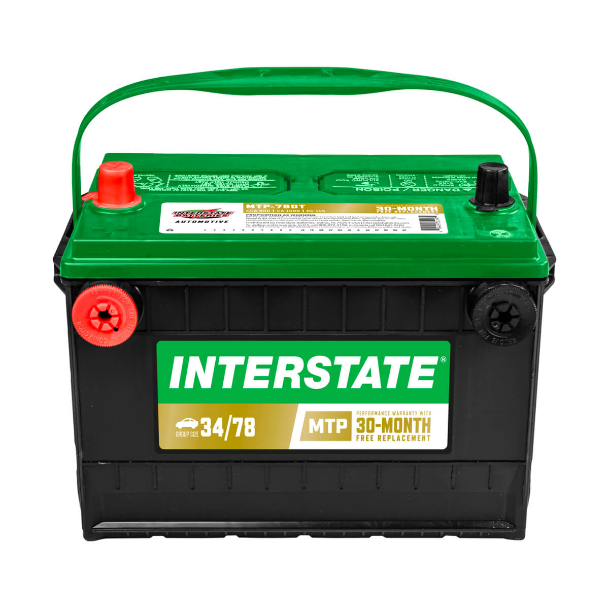 Interstate Auto/Truck/SUV Battery - MTP-78DT
