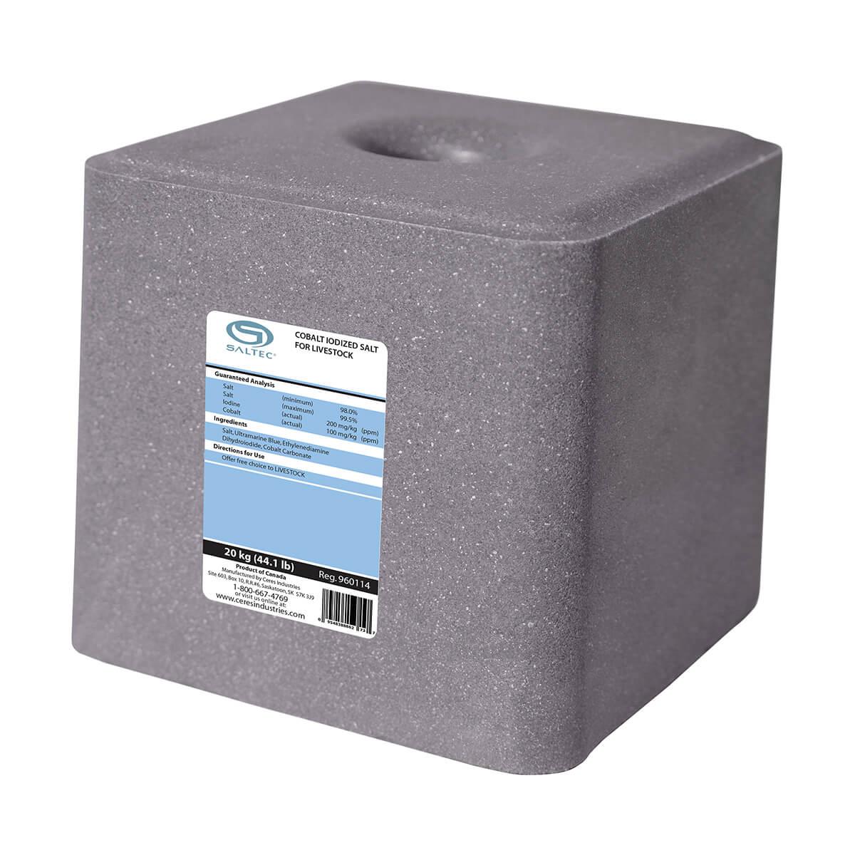 Saltec Cobalt Salt Block 20 kg