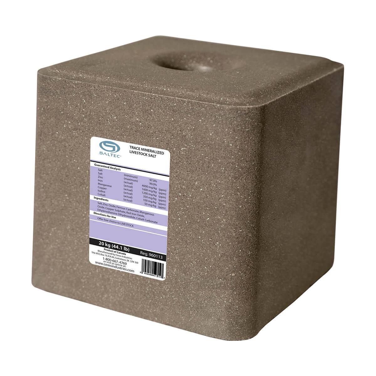 Trace Mineralized Salt - 20 kg