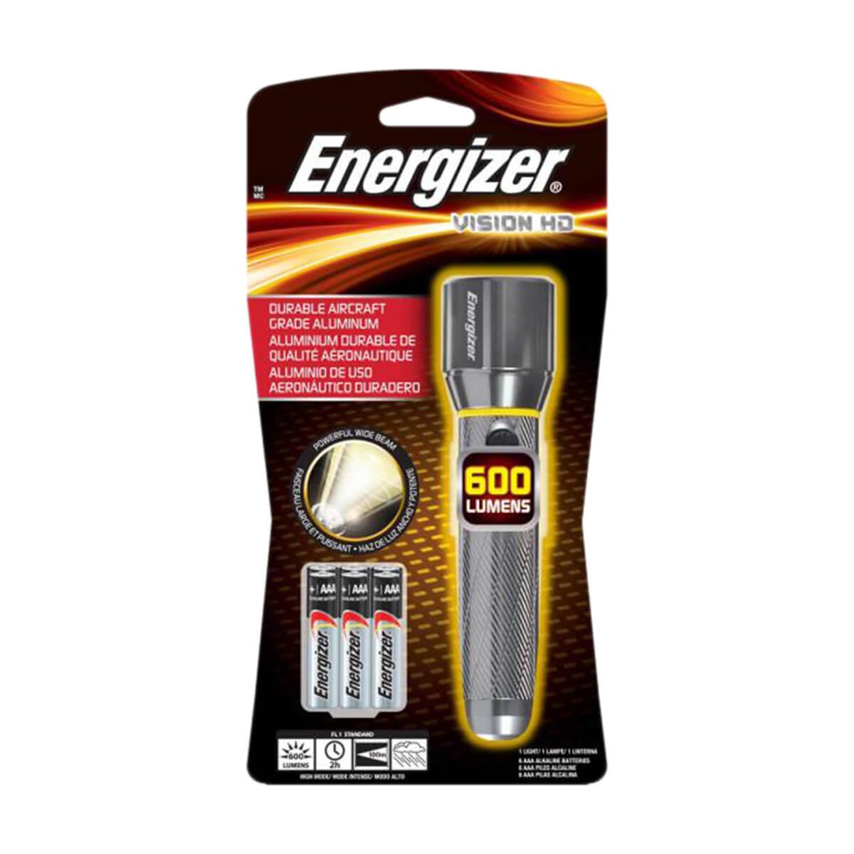 Flashlight - Energizer Vision HD - 600 lu