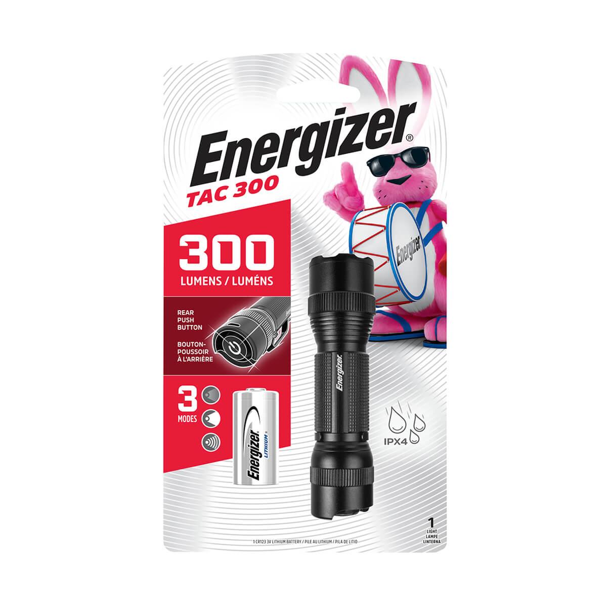 Flashlight - Energizer - Melta TAC LED - 300 lu