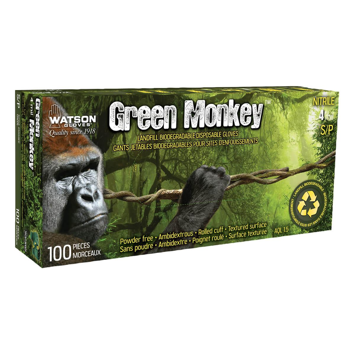 Green Monkey Gloves - L