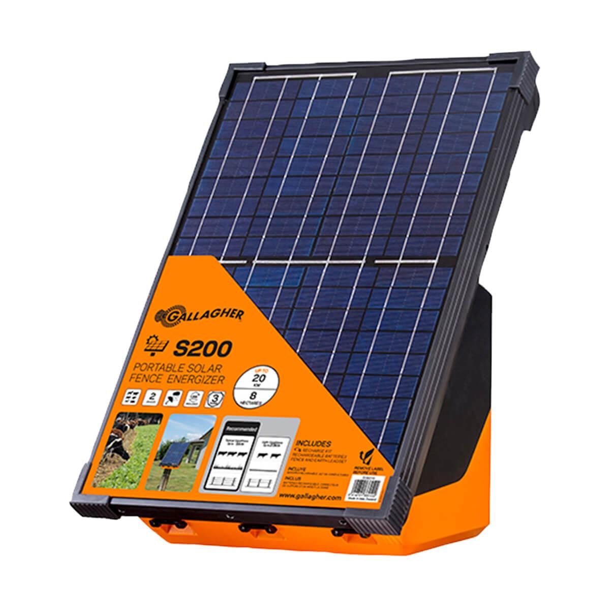 Gallagher - Solar Fence Energizer - S200