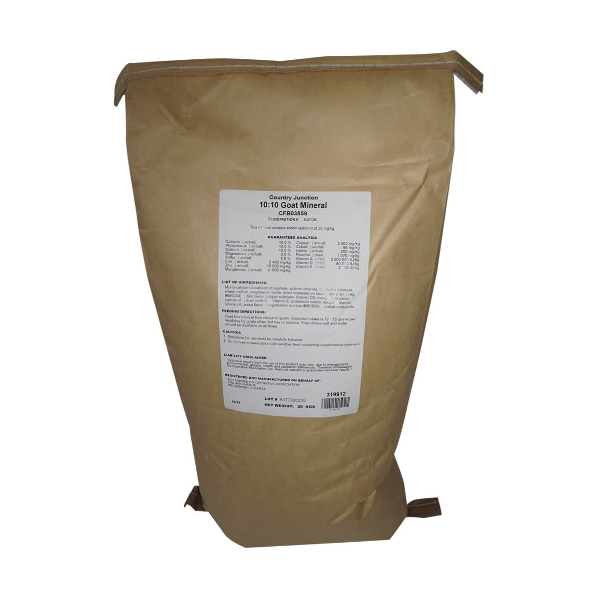 Goat Mineral - 20 kg