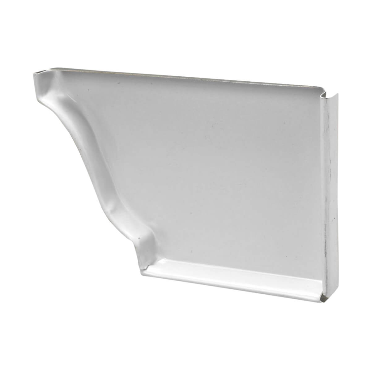 Kaycan End Cap - Right Hand - 4-in - White