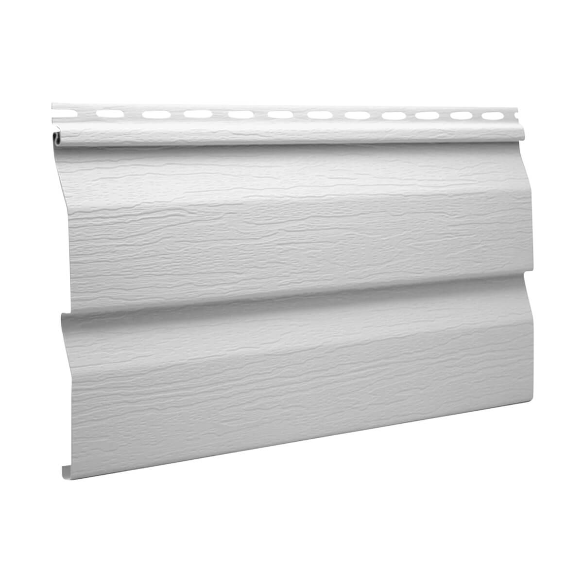 Kaycan Aluminum Drip Cap - 2-in x 9-ft10-in - Wolf White