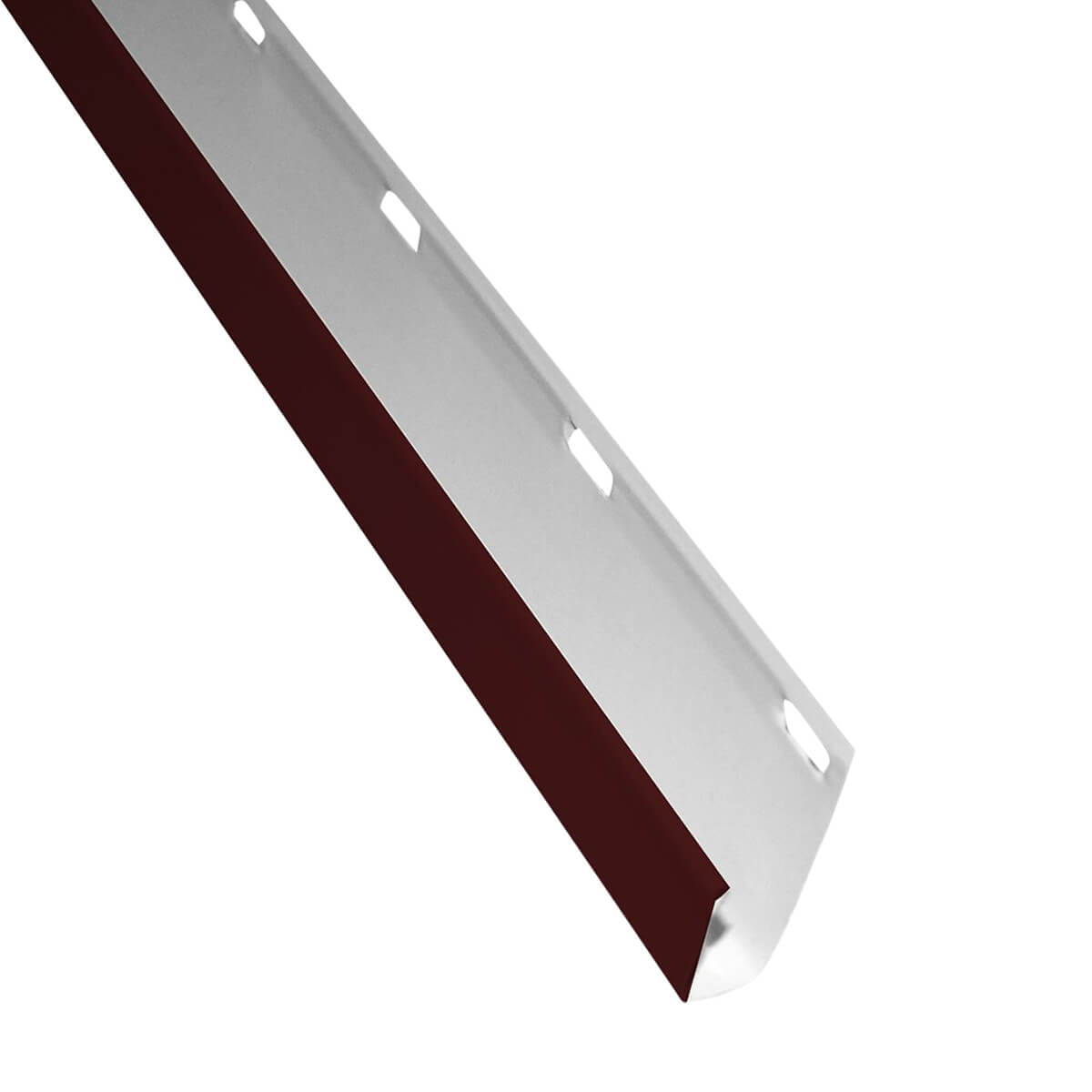 Kaycan Aluminum Soffit - Non Vented - 16-in x 12-ft - Wolf White