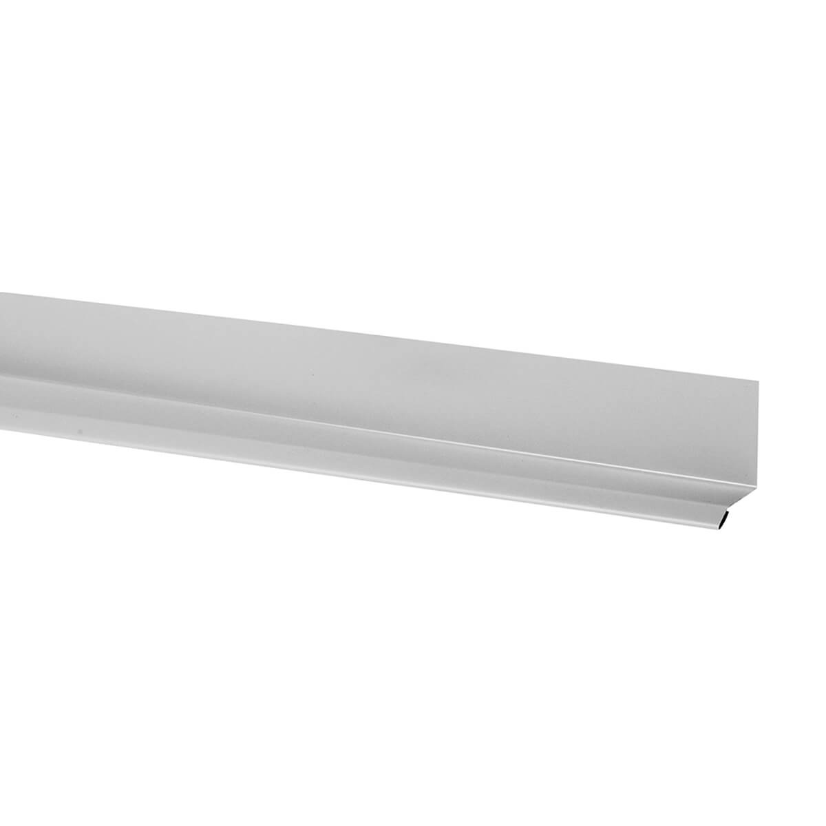 KAYCAN ALUMINUM SOFFIT J TRIM - 3/8-IN X 12-FT - CHOCOLATE BROWN<br/>