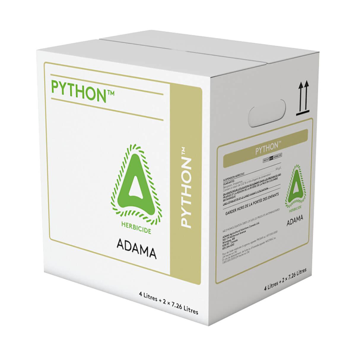 PYTHON - 4L + 2 x 7.26L Case