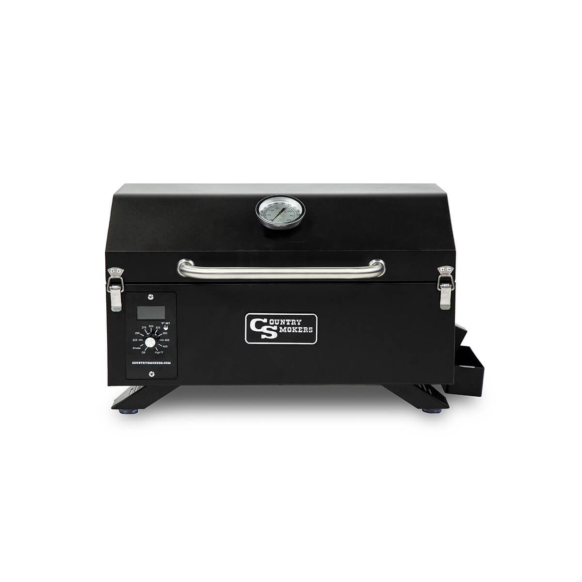 Country Smokers Traveler Portable Wood Pellet Grill & Smoker