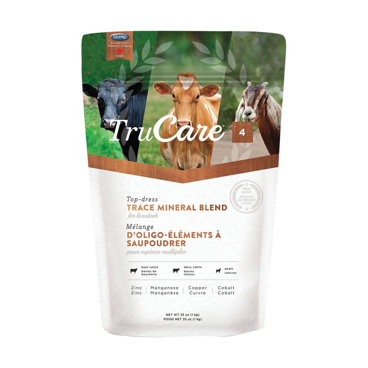 TruCare 4 - Trace Mineral Blend for Livestock - 1 kg