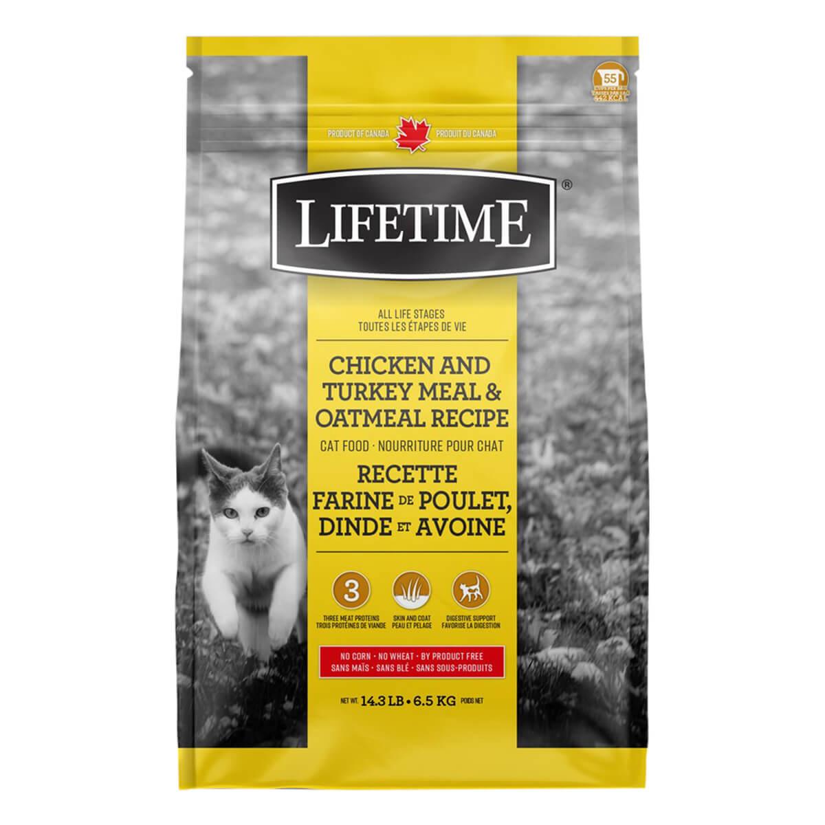 Lifetime Chicken Cat Food - 6.5 kg