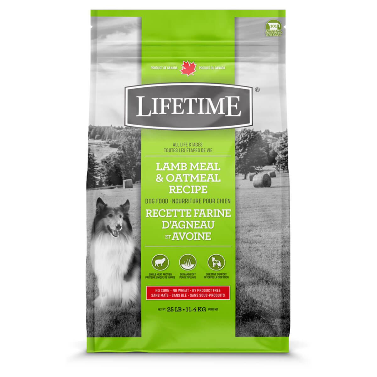 Lifetime Lamb Dog Food - 11.4 kg