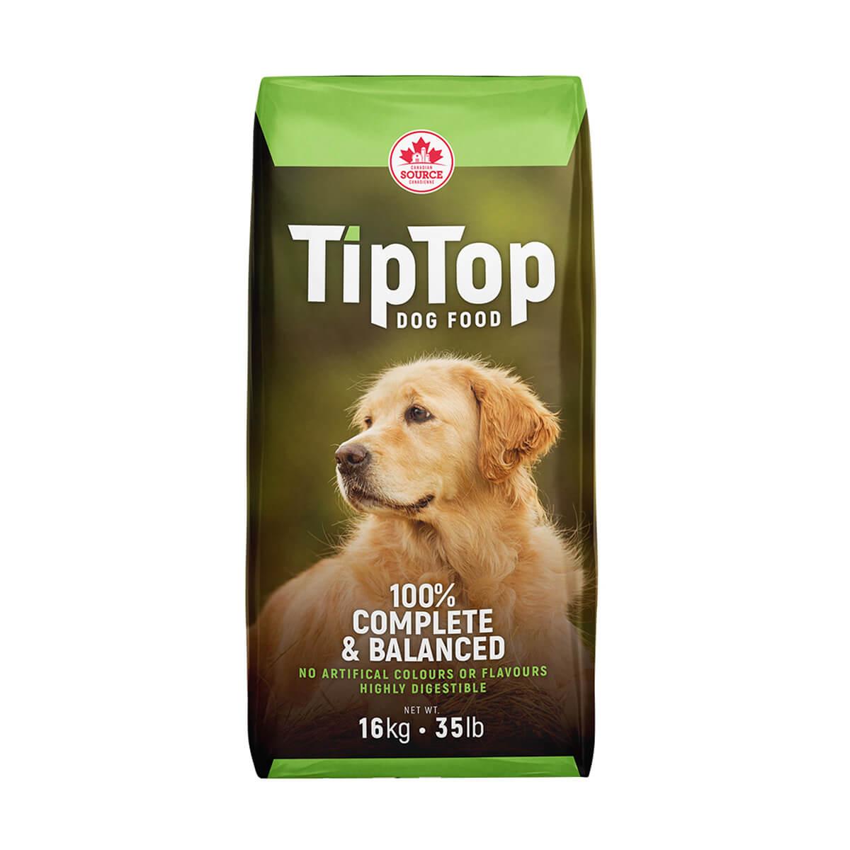 Tip Top Dog Food - 16 kg