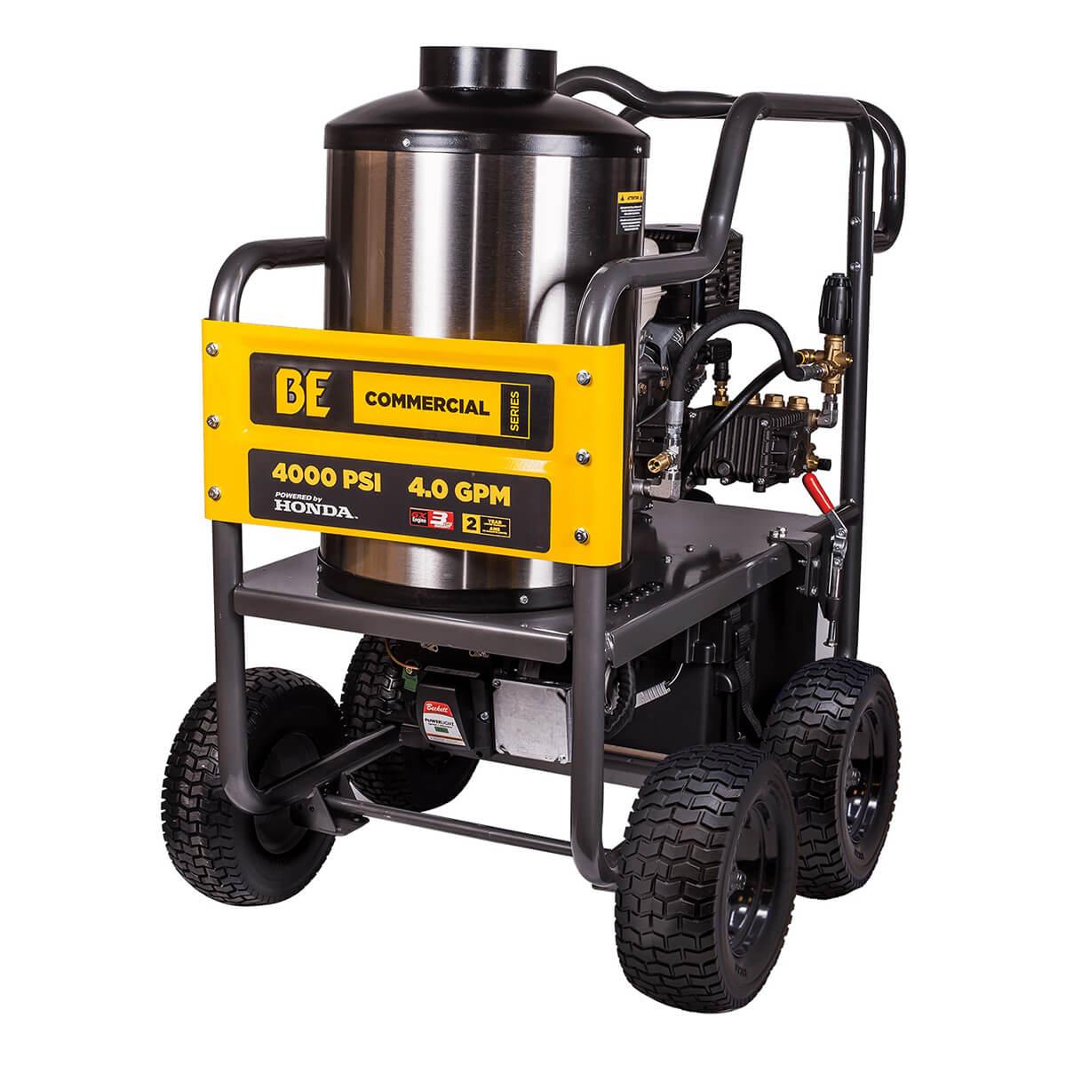 Hot Water Pressure Washer Honda GX390 4000PSI