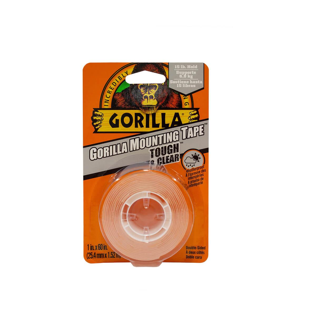 Gorilla Heavy Duty Mounting Tape - 1-in x 60-in