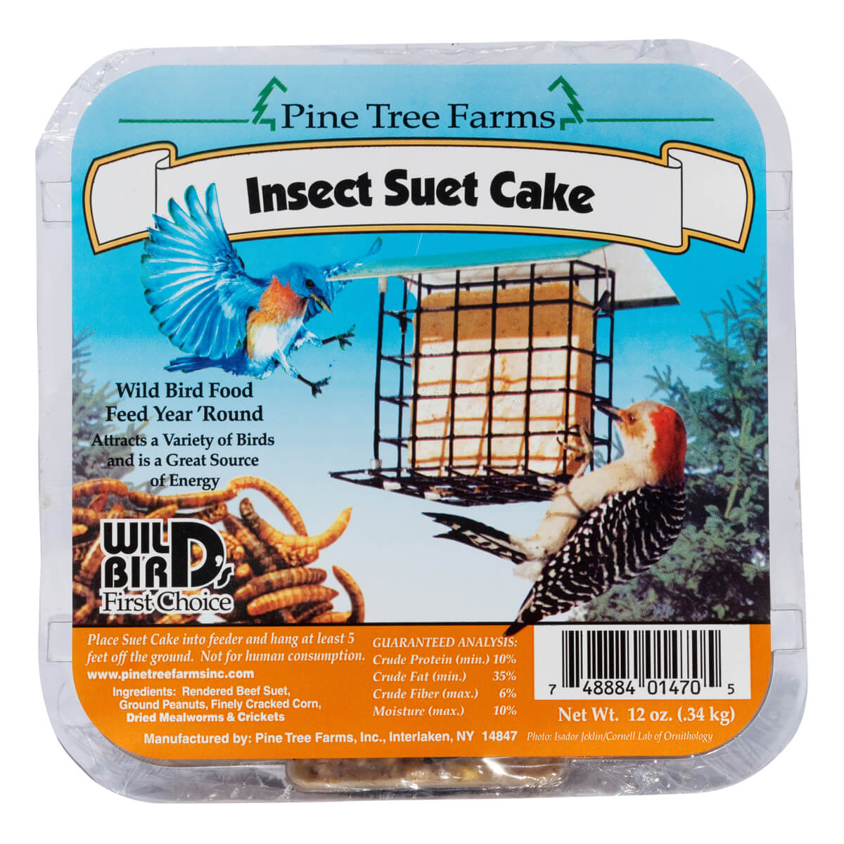 Pine Tree Farms Insect Suet Cakes
