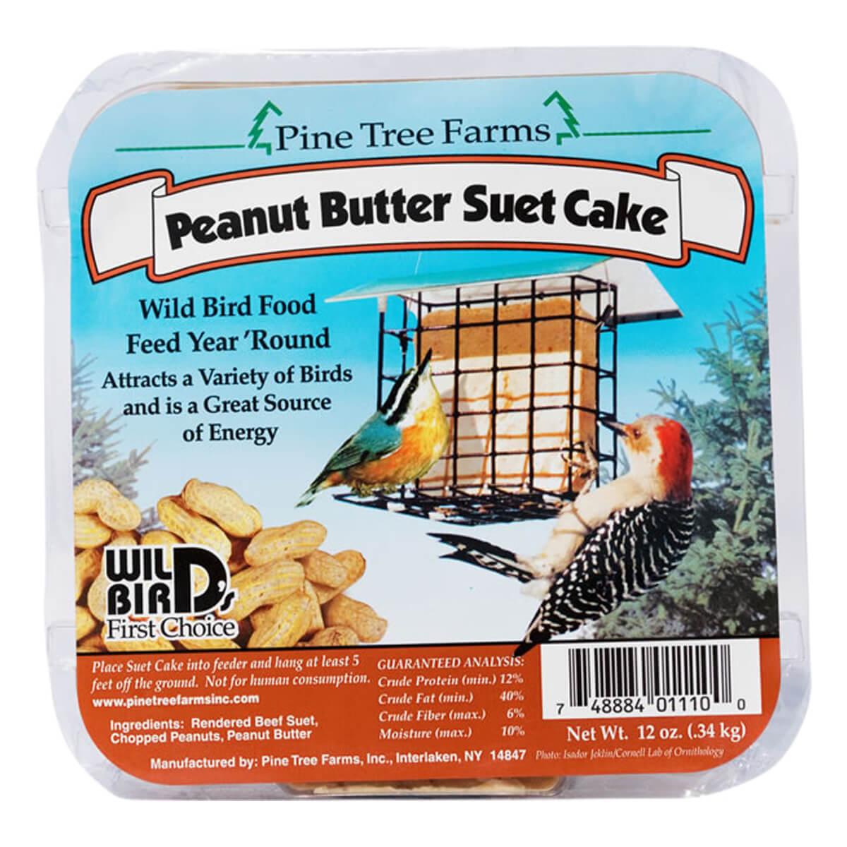 Pine Tree Farms Peanut Butter Suet Cakes