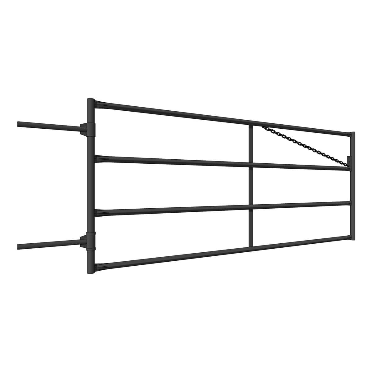 Diamond Ranch Fence Line Gate - 8-ft