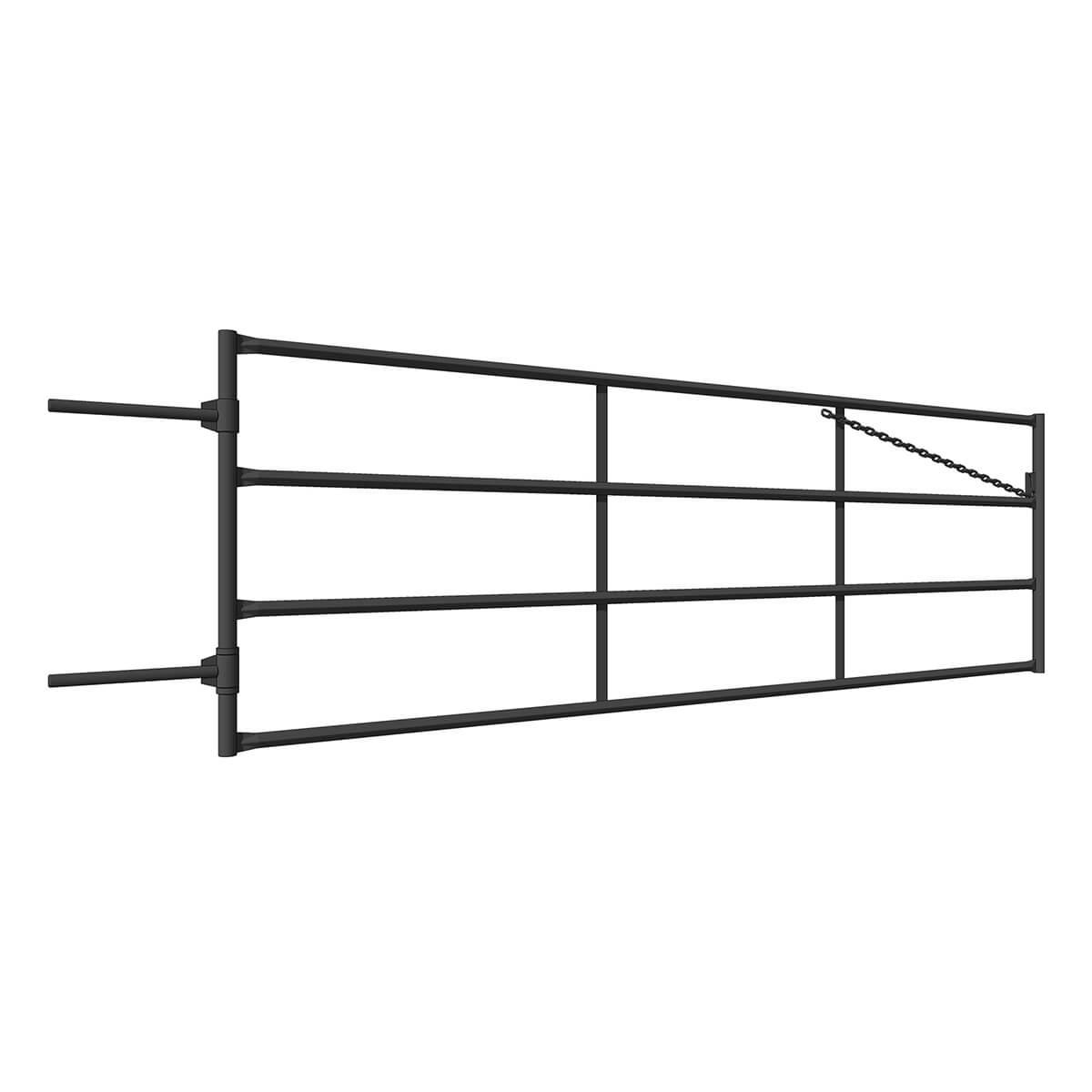 Diamond Ranch Fence Line Gate - 12-ft