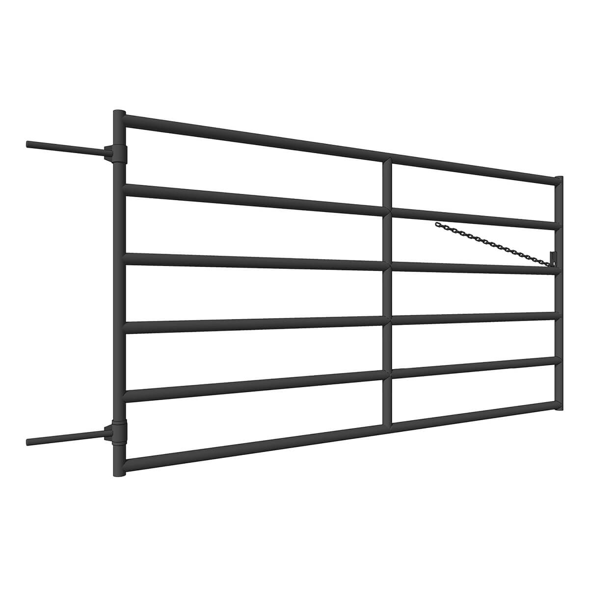 500 Series Corral Gate - 10-ft
