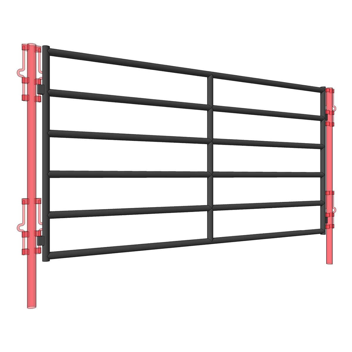 500 Series Panel - 10-ft