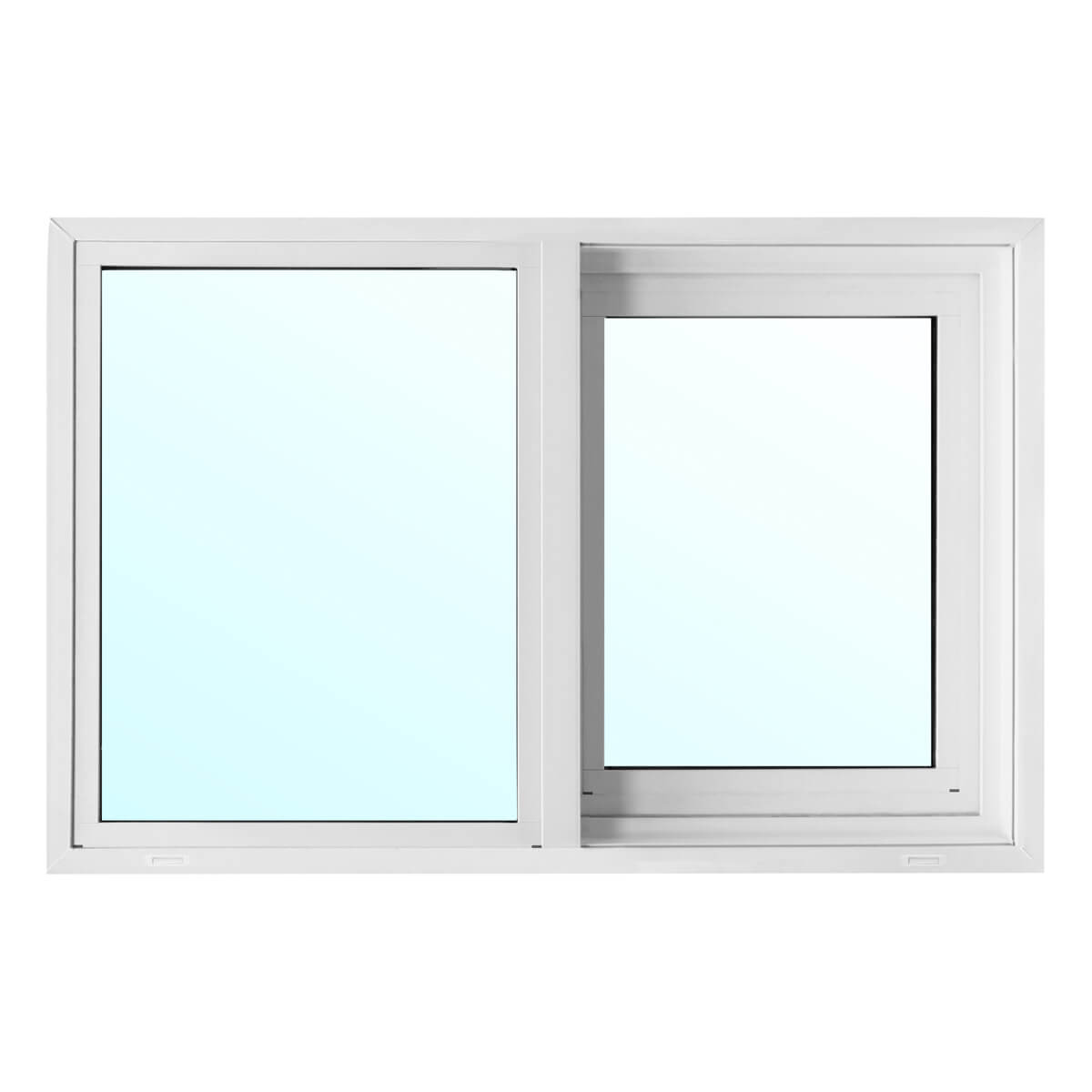 Metro PVC Slider Window with 2-1/8-in Jamb - Low-E Glass - 36-in x 30-in