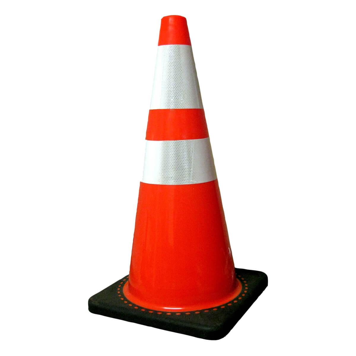 Traffic Cone 28 inches 5Lb Base Q