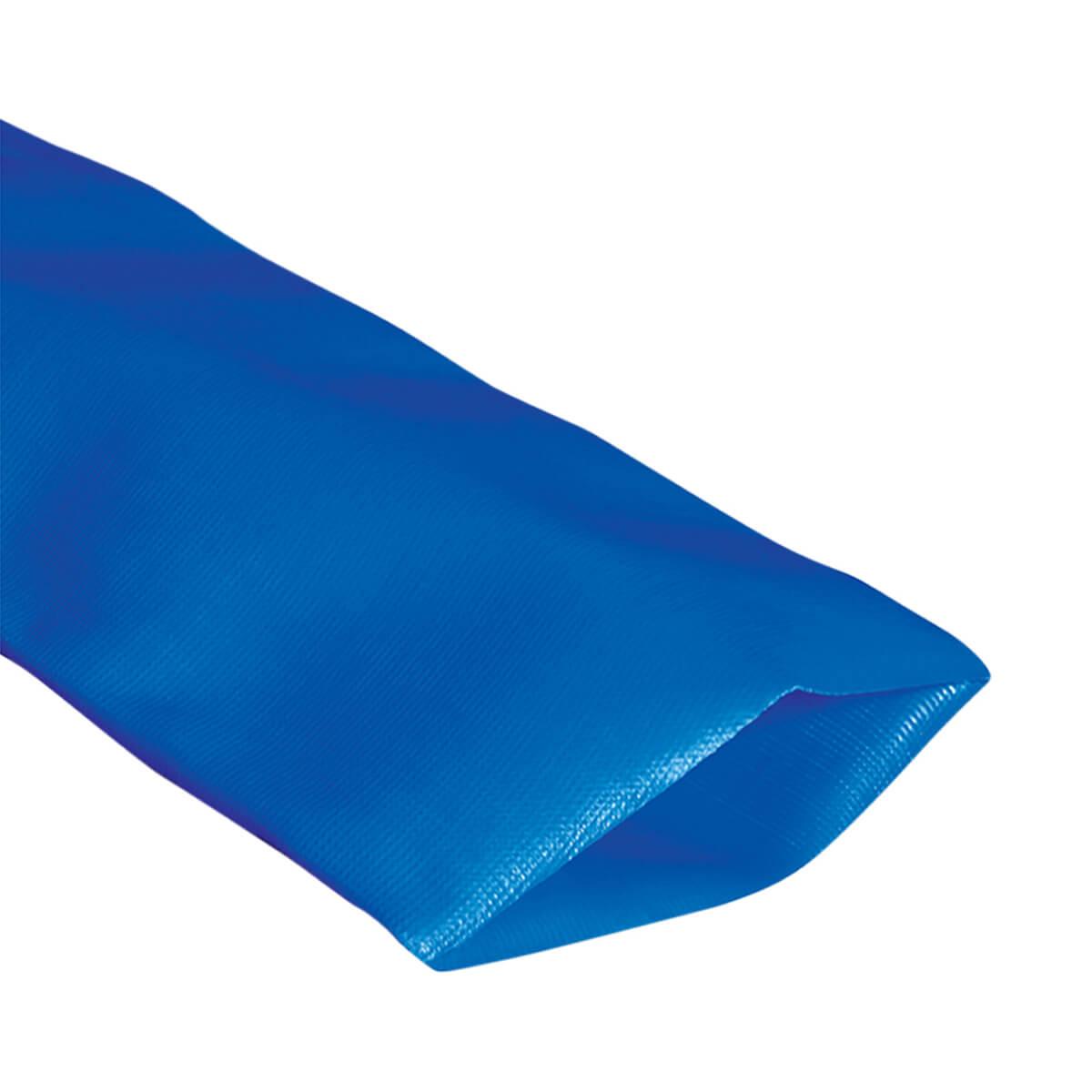 "Blue Standard-Duty PVC Layflat Discharge Hose - 2"" - Price Per Foot"