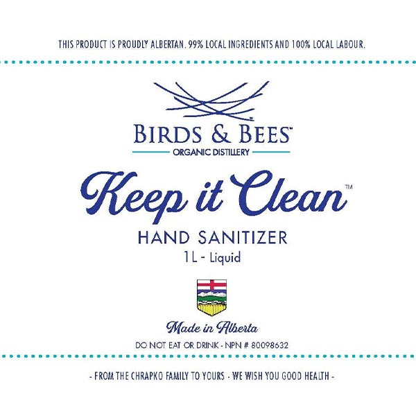 Keep it Clean™ Hand Sanitizer 1L