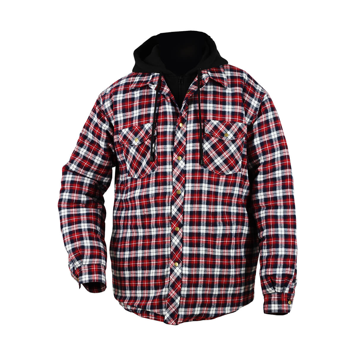 Women's Hooded Quilted Flannel