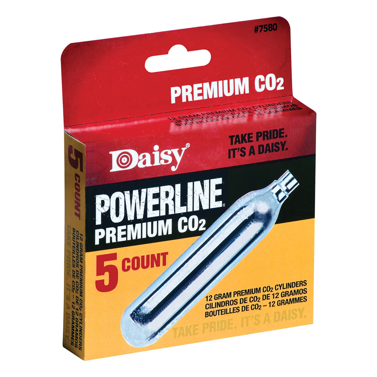 Daisy CO-2 cartridge - 5 pack