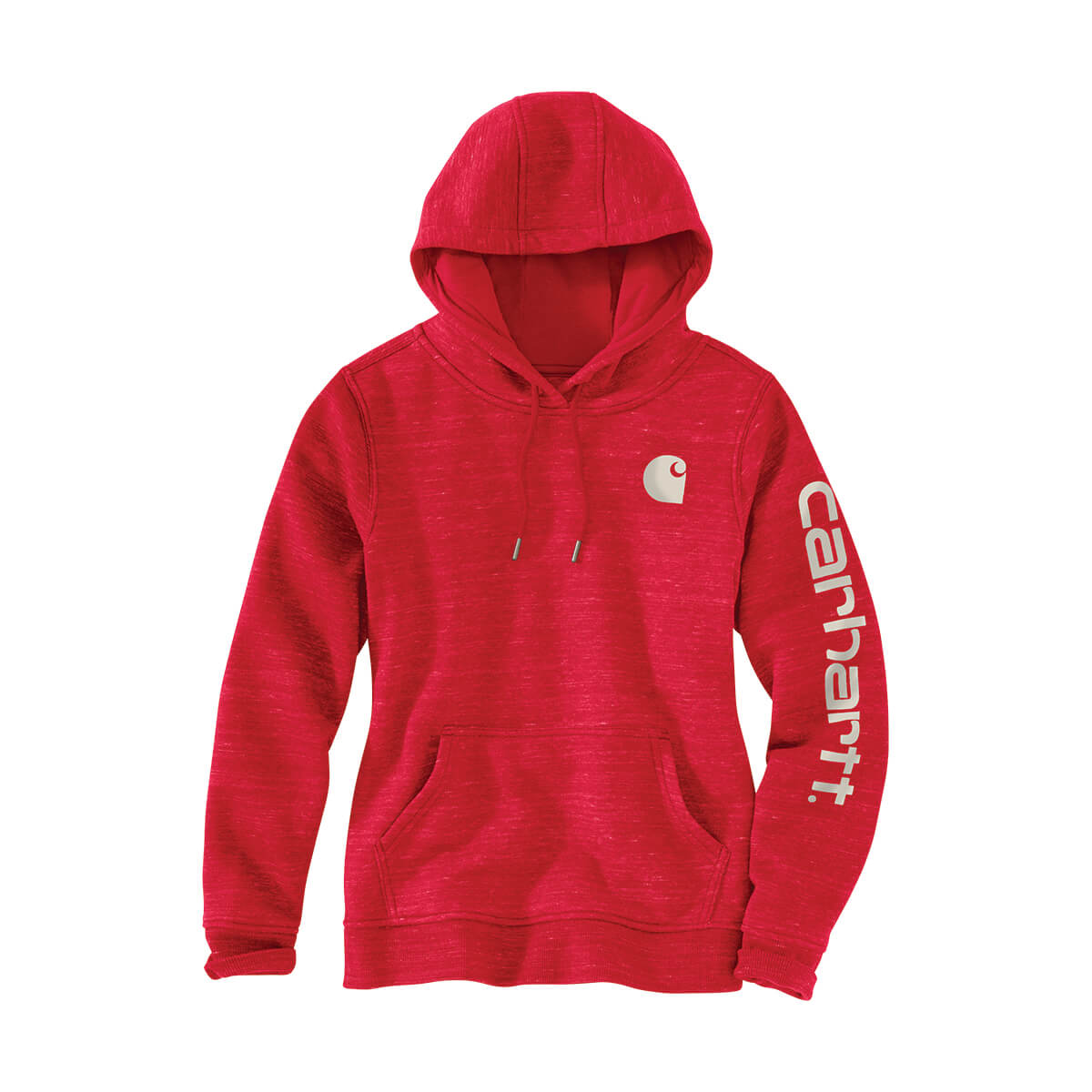 Women's Pullover Hoodie with Sleeve Logo