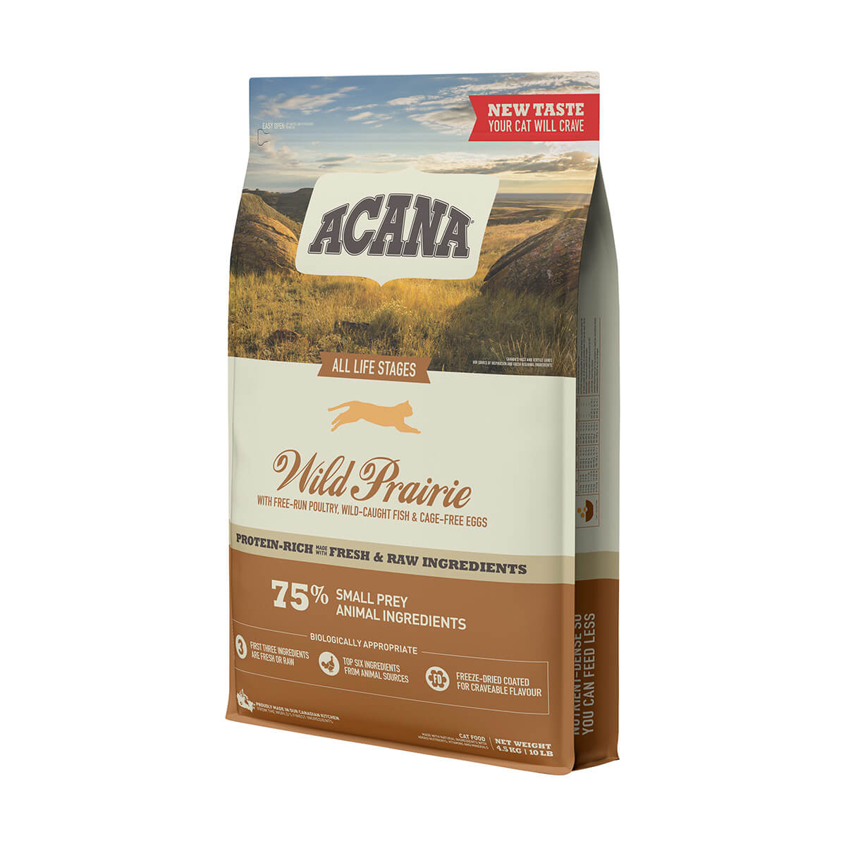 ACANA - Cat Food - Wild Prairie - 4.5 kg