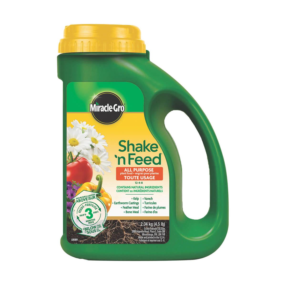 Miracle-Gro Shake 'n Feed All Purpose - 2.04 kg