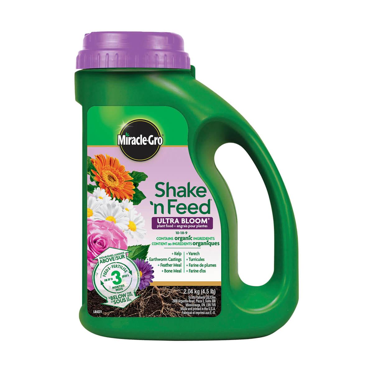 Miracle-Gro Shake 'n Feed Ultra Bloom - 2.04 kg