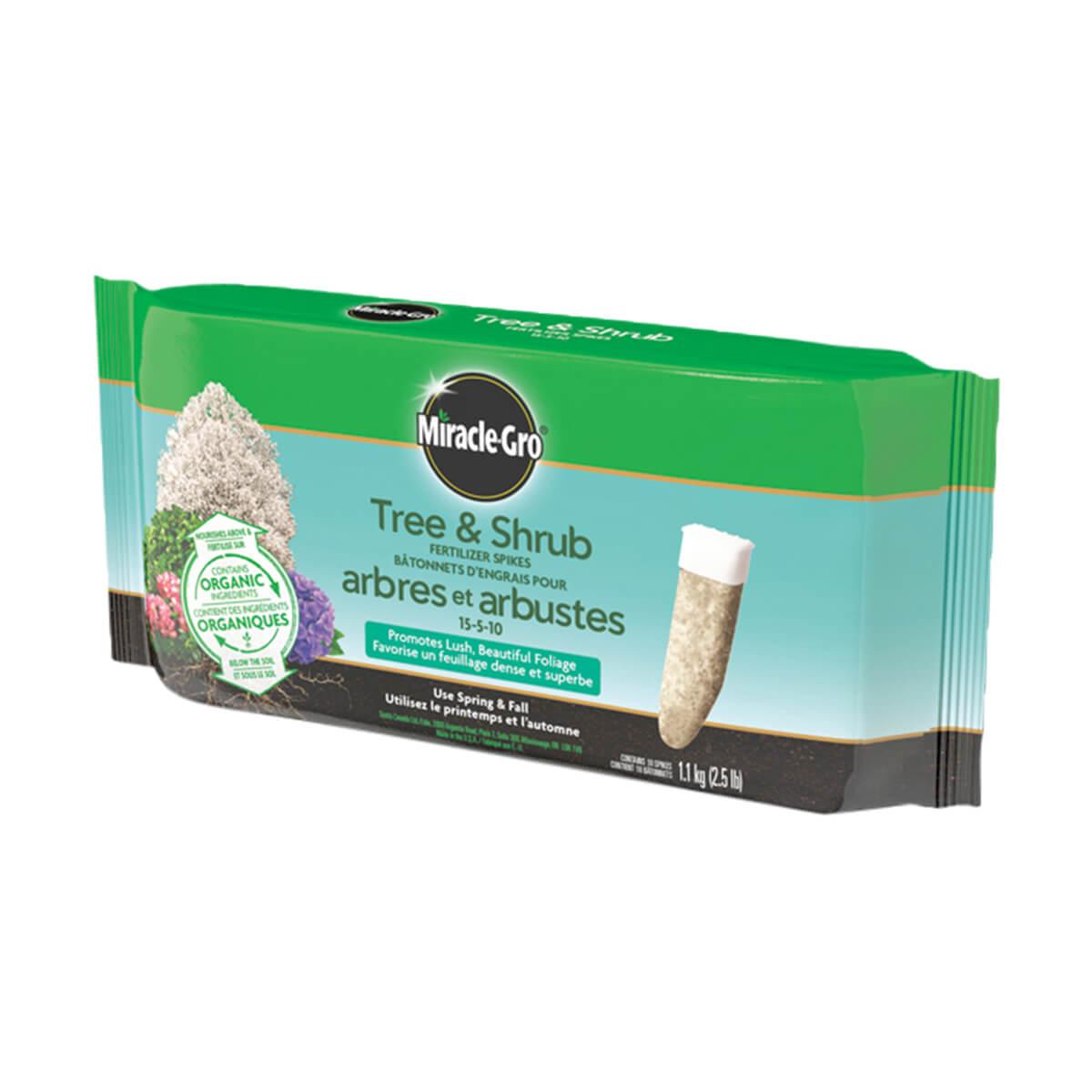 Miracle-Gro Tree & Shrub Fertilizer Spikes - 1.1 kg