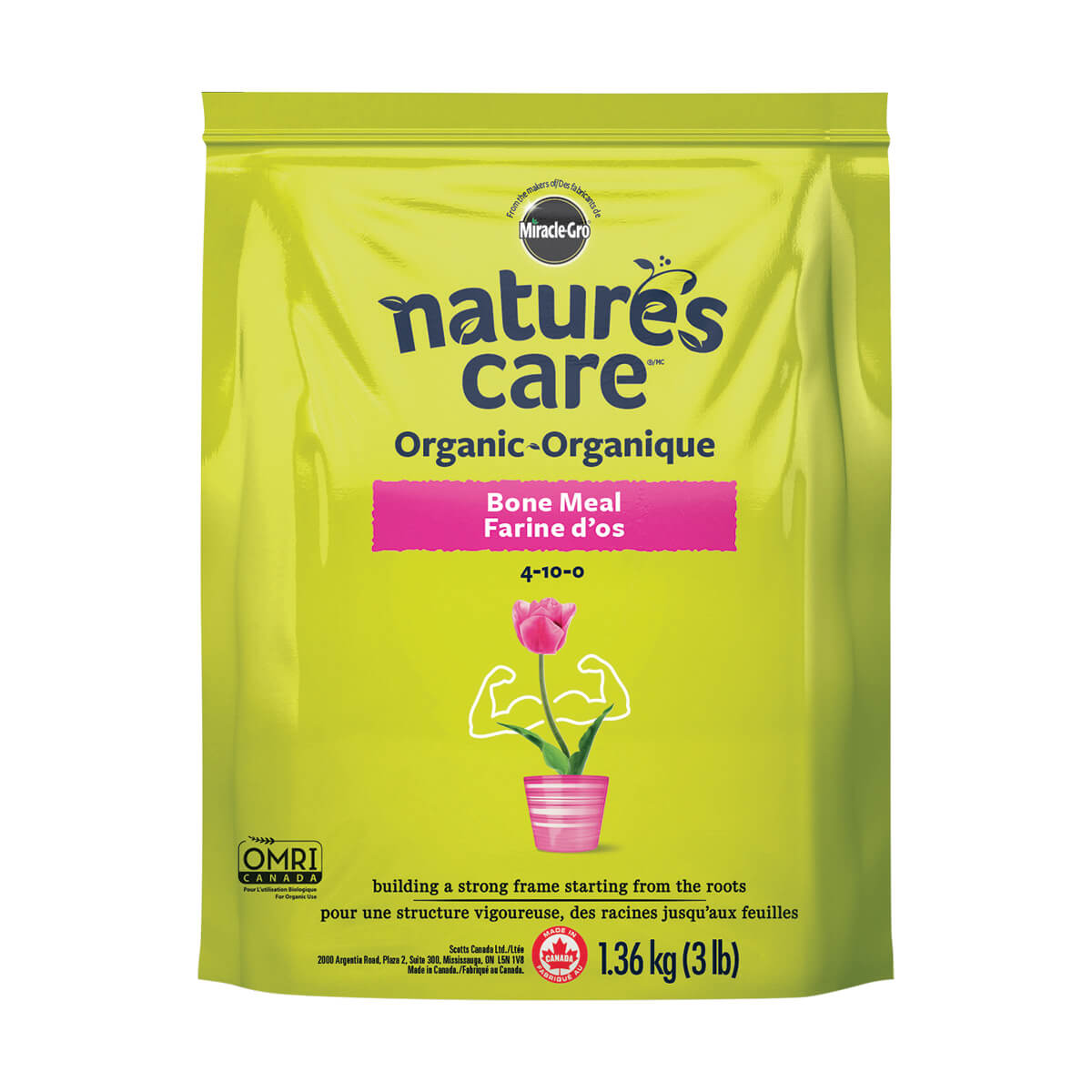 Miracle-Gro Natures's Care Organic Bone Meal - 1.36 kg