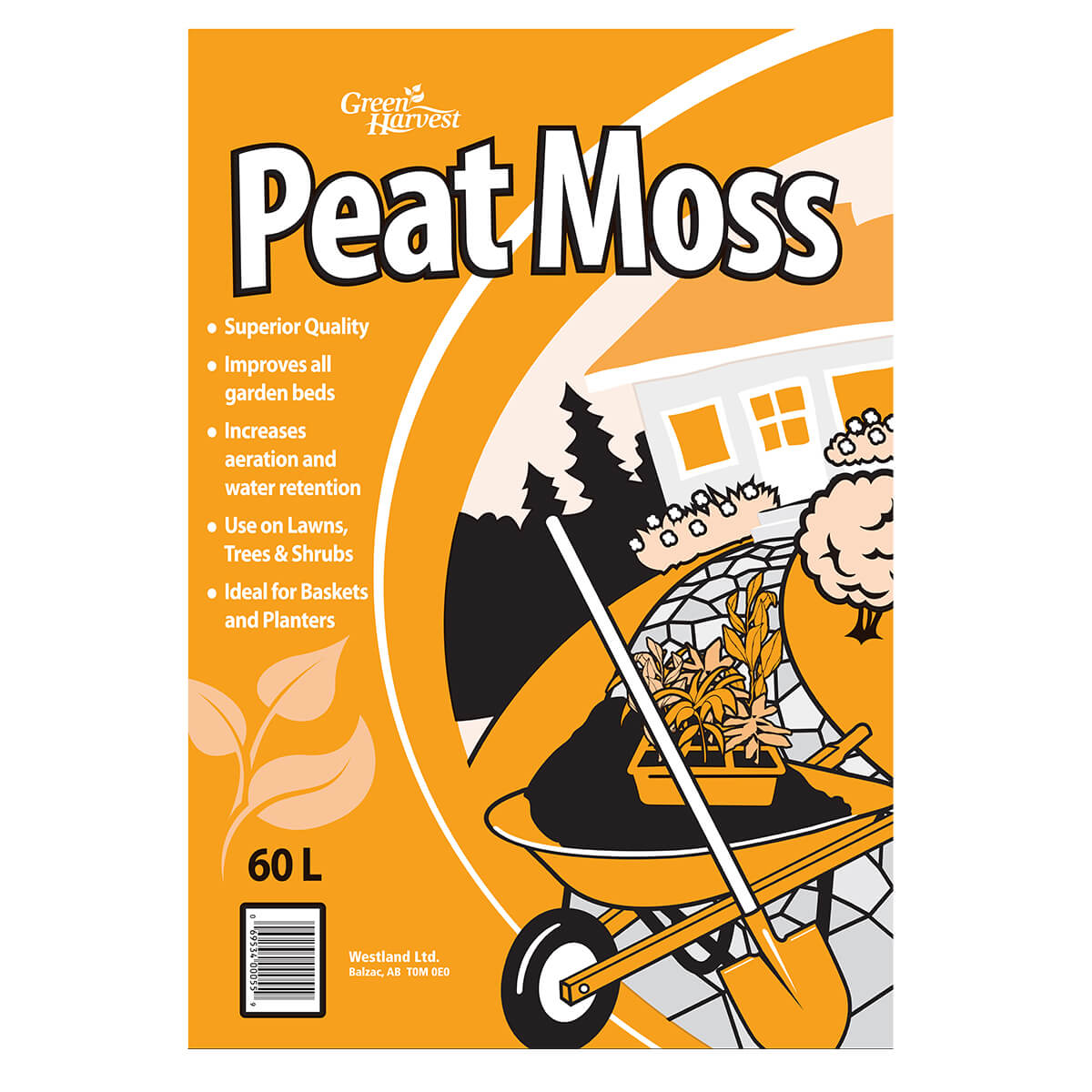 Peat Moss 2.2CUFT