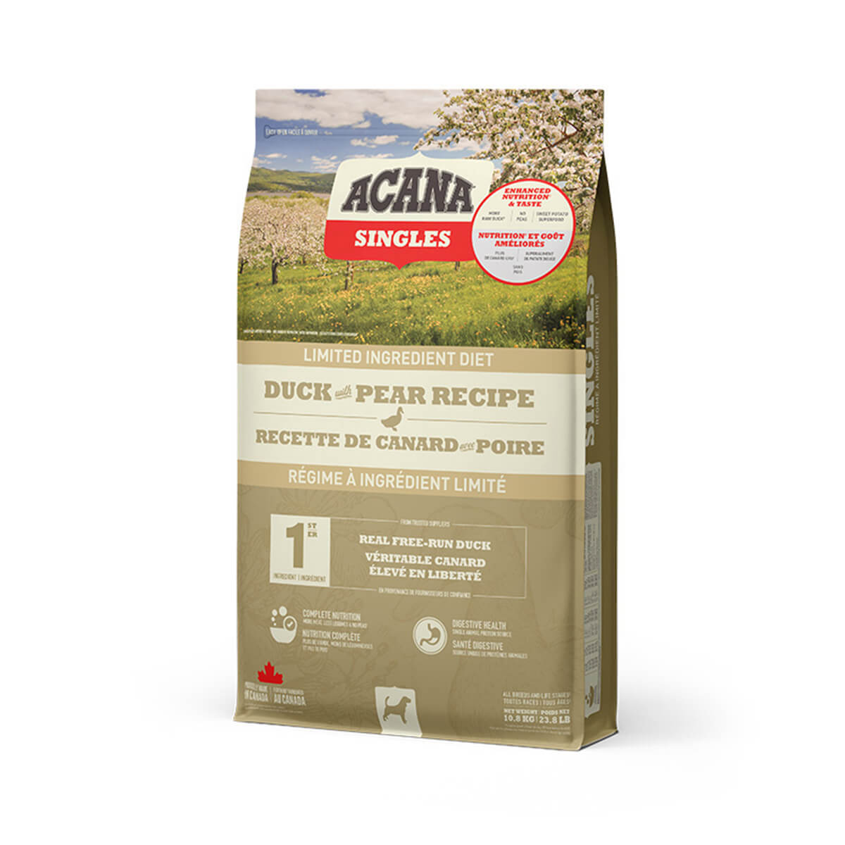 ACANA - Dog Good - Duck with Pear Recipe - 10.8 kg