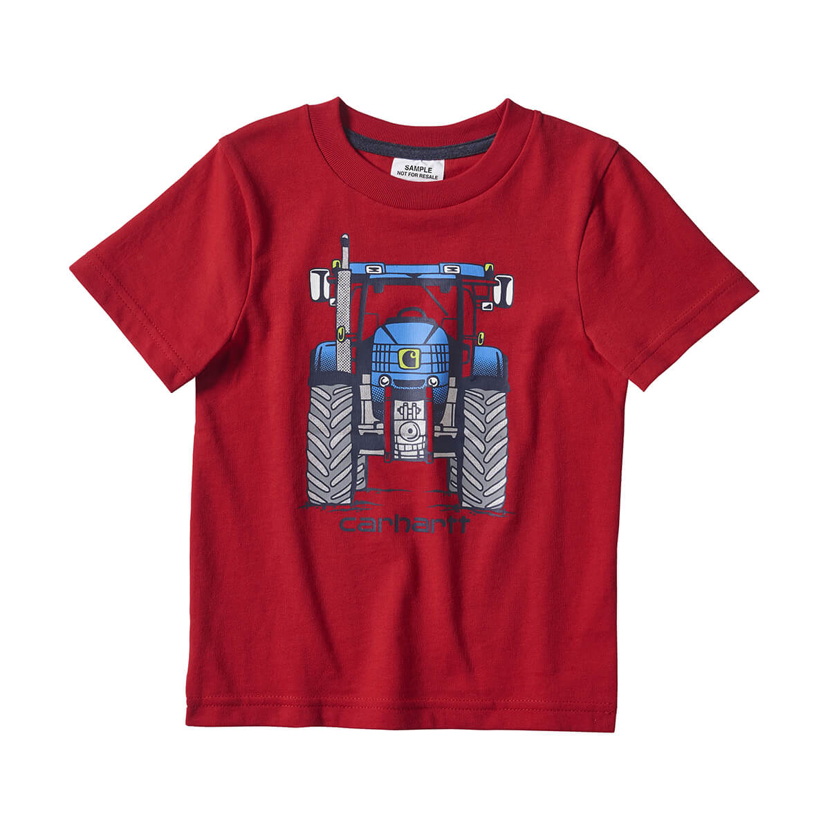 Carhartt Boys Short Sleeve Graphic Tee - Red