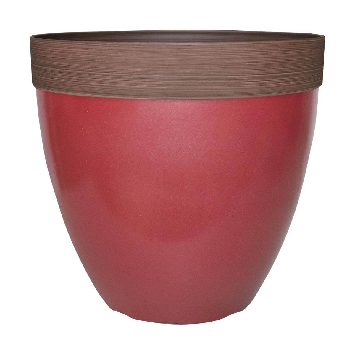 Planter - Red - 15 in