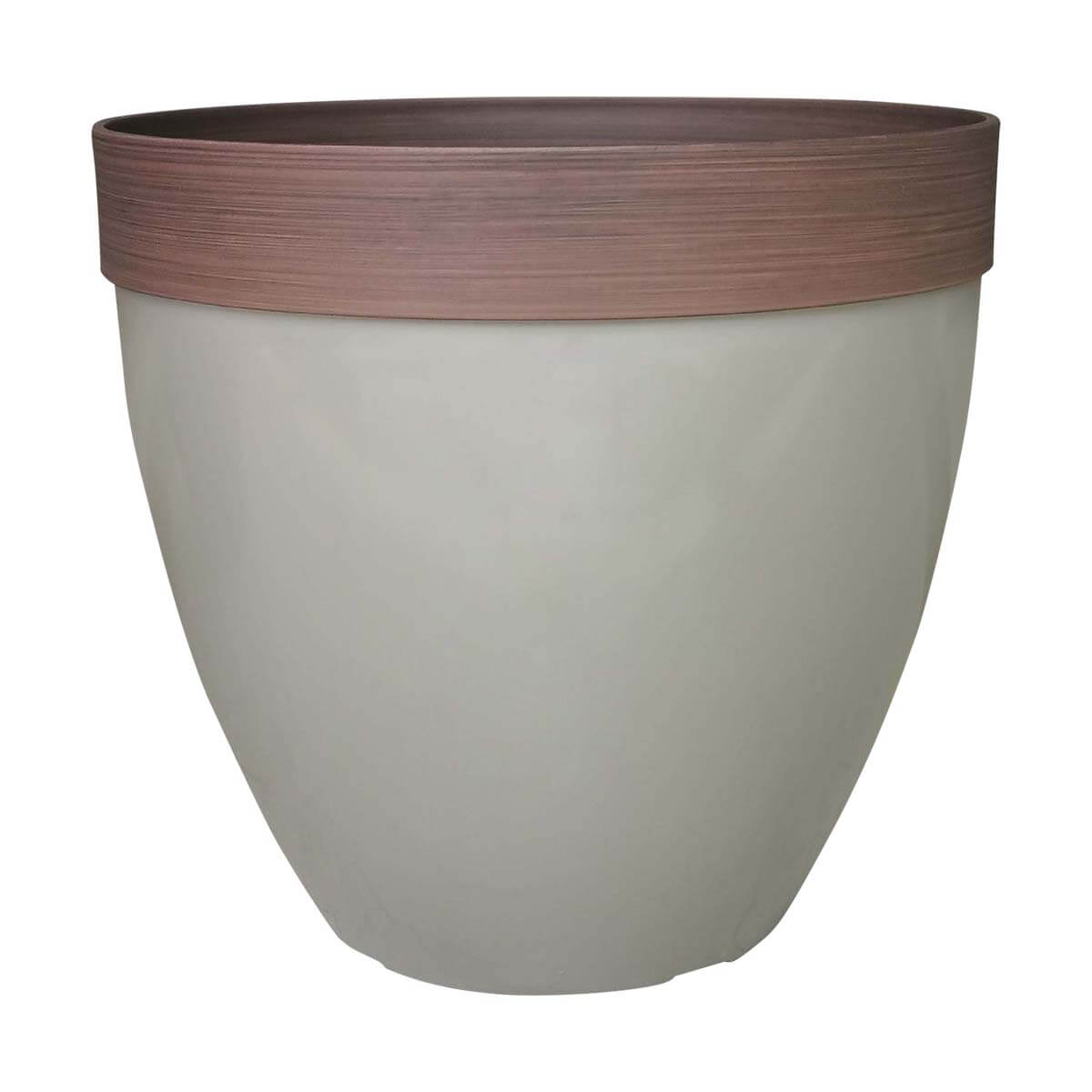 Planter - Taupe - 15 in