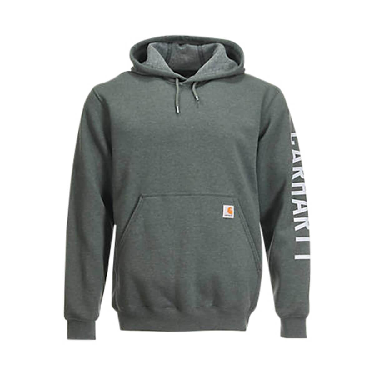 Men's Loose Fit Midweight Exclusive Logo Sweatshirt - Elm