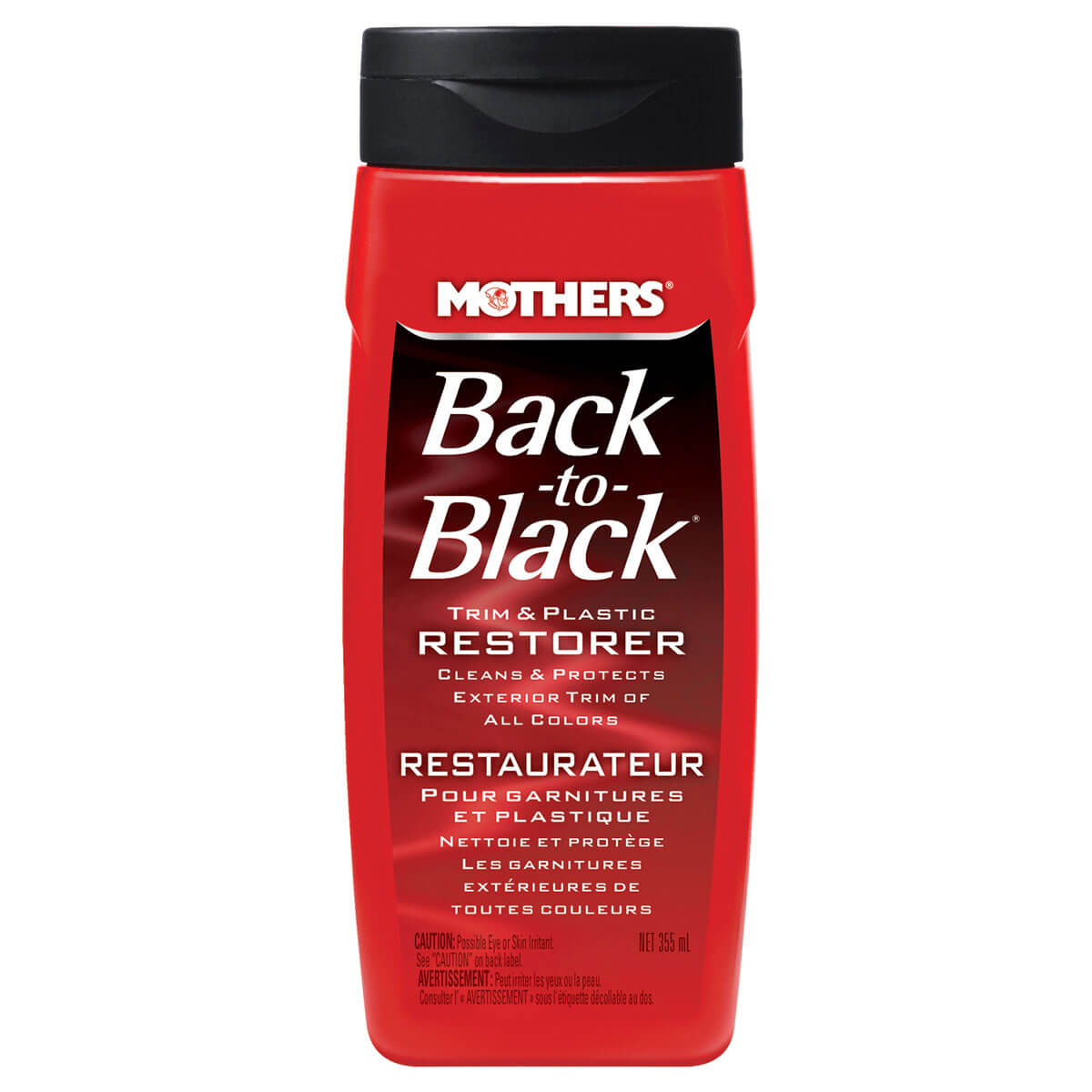 Back-To-Black Trim & Plastic Restorer - 12oz