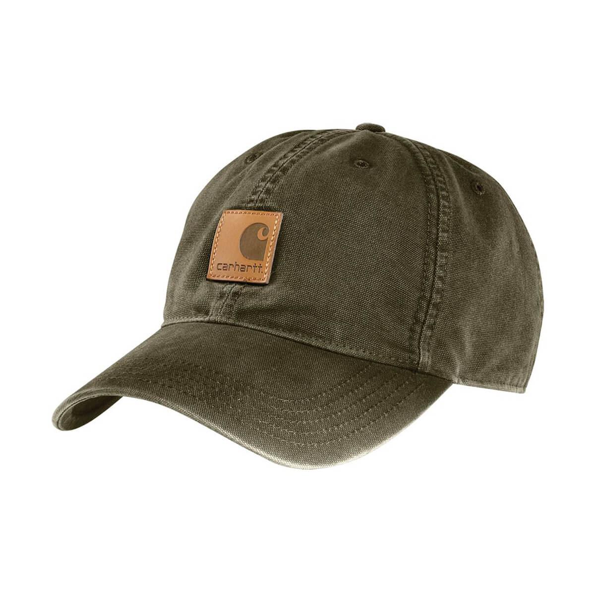 Canvas Cap - Army Green