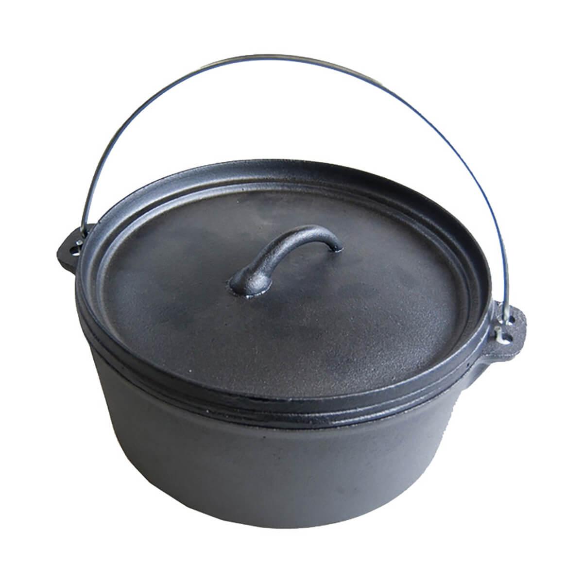 Olympia Cast Iron Dutch Oven - 4.5 qt