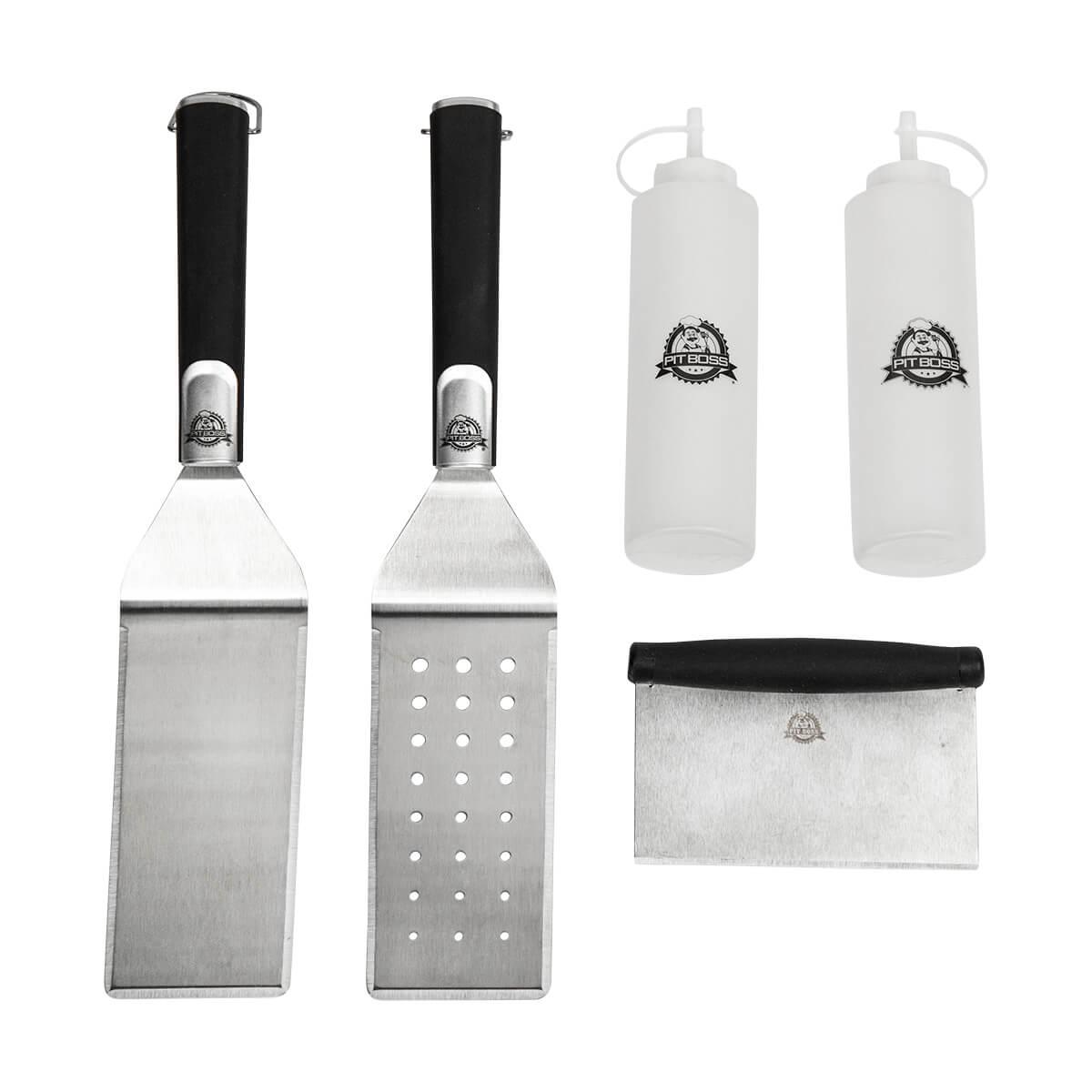 5 Piece Griddle Accessories Kit